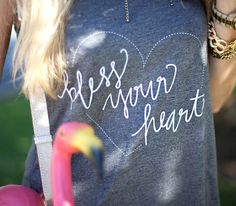 Bless Your Heart Tank  Medium by apinchoflovely on Etsy, $28.00