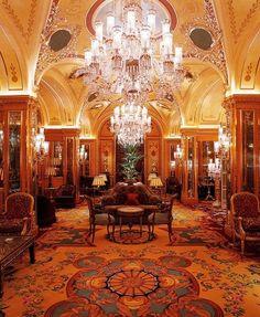 Beautiful formal lounge, The Ritz   London.