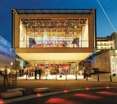 One of my brother's amazing buildings he designed, the Sandvika Cultural Center in Norway. Amazing Buildings, Cultural Center, Norway, Liquor Cabinet, Opera, Culture, Architecture, Image, Design