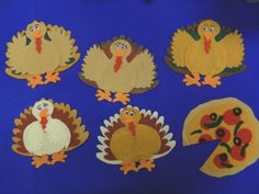 Ram Sam Story time: Five Little Turkeys Flannel Board Stories, Felt Board Stories, Felt Stories, Flannel Boards, Fall Crafts, Crafts For Kids, Thanksgiving Preschool, Thanksgiving Ideas, Pete The Cats