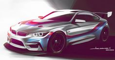 BMW M4 Gears Up To Take On GT4 Racing #BMW_M4 #Motorsport