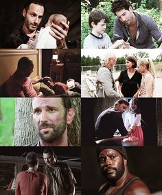 I miss Shane, T-Dog, Dale, Merle, Jim, Amy... Not really Andrea and Lori but still