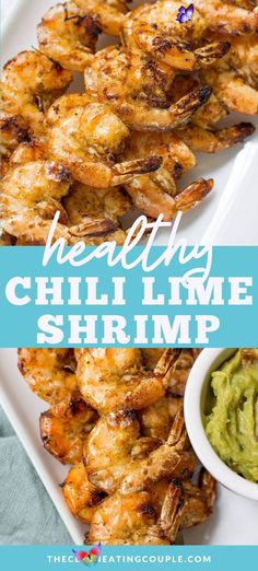 Healthy Chili Lime Shrimp This Chili Lime Shrimp is an easy paleo, Whole30 and gluten free dinner that's made in only 20 minutes! A delicious, healthy meal thats super versatile. Use them in tacos, wraps, salads or lettuce wraps!  #paleo #whole30 #glutenfree #grilling<br> This Chili Lime Shrimp is an easy paleo, Whole30 and gluten free dinner that's made in only 20 minutes! A delicious, healthy meal that's super versatile!