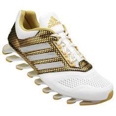 Tênis Adidas Springblade Drive Gold Pack - Branco+dourado