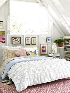 Dorm Room Decorating Ideas: English Rose: A Room of My Own: teenvogue.com