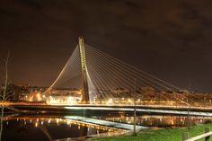 Puente de los Tirantes, (Pontevedra). Galicia. Spain.