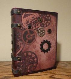 Steampunk box book #secret #storage book gear #decor steampunk #decor,  View more on the LINK: http://www.zeppy.io/product/gb/2/132020786505/