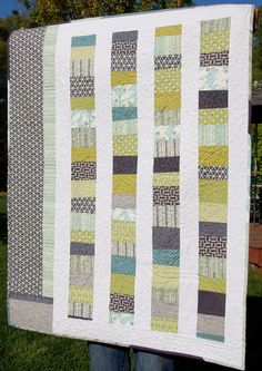 modern quilt patterns   Modern Amish Quilt Throw Crochet Pattern   Red Heart