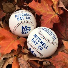 Our new baseballs by Huntington Base Ball Co available just in time for the Fall Classic. Get yours at mitchellbatco.com/baseballs (direct link in profile).