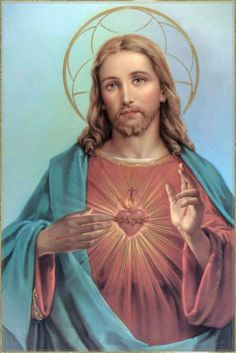The Sacred Heart of Jesus.