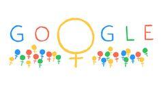 Google Doodles 8 maret 2014: International Women's Day 2014
