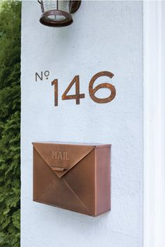 1000 Images About Exterior Accessories Shortlist On Pinterest Modern Mailbox Address Plaque