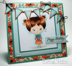 Tracy's Stamping Corner: Happy Birthday and EXCITING NEWS!!!
