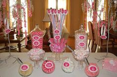 Candy Buffet Pink Purple Lavendar Blue Teal Green by OCSweetCandy, $99.00