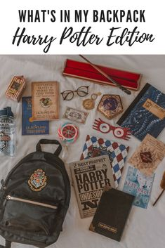 What's in my Backpack: Hogwarts School and Harry Potter edition featuring items from Noble Collection, Primark, Warner Bros and more. If you're looking for some great Harry Potter gift ideas, look no further!