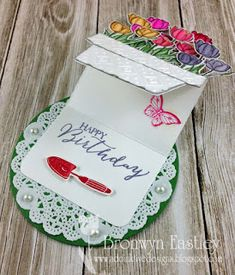 It's Trend Week at Just Us Girls and it's all about using watercolouring on your card or project. What perfect timing! I recently purchas...