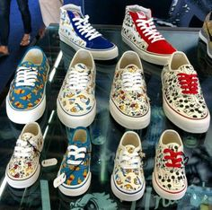 DISNEY × VANS VAULT SNEAKER COLLECTION 2013 FALL #sneaker