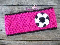 Crochet by Dugan's Girls {soccer headband}