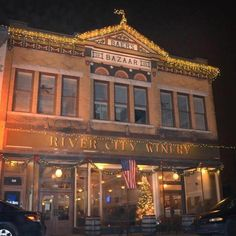 9 Amazing Historic Indiana Eateries 1. River City Winery (New Albany)