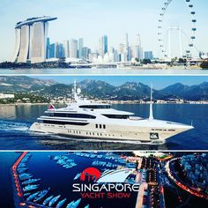 The 6th Edition of the Singapore Yacht Show is on! 7-10 #april  The #largest #yacht at the #show is the 56m @benetti_yachts LADY CANDY with her #unusual #layout with the #owner #suite on the upper deck. Located at the @one15marinaclub #Singapore shows the #growing #interest of #yachting in #asia by yachtstories