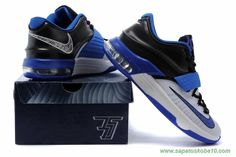 brand new 0dd33 04bc1 Kevin Durant 7 Black Blue White, cheap KD If you want to look Kevin Durant  7 Black Blue White, you can view the KD 7 categories, there have many  styles of ...