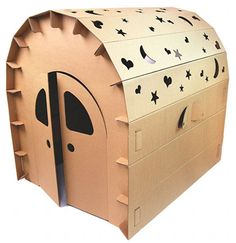 Funny paper cubby house from Urban Baby