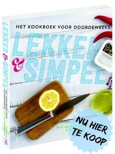 Koop het Lekker en Simpel Kookboek NU! - Lekker en Simpel