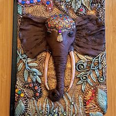 clay art Ideas Diy Art Journal Cover Polymer Clay For 2019 Polymer Clay Elephant, Polymer Clay Kunst, Clay Art Projects, Polymer Clay Projects, Diy Jewelry For Mom, Planner 2018, Elephant Book, Biscuit, Book Cover Art