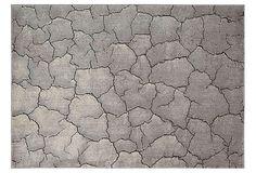 Wicker Rug, Granite on OneKingsLane.com
