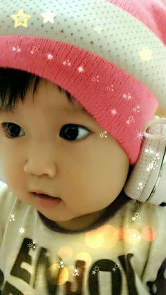 my cute baby girl... 😍