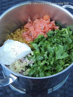 ONE POT saumon/épinards.