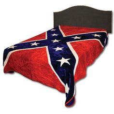 Confederate Rebel Flag 215 Blanket ($29.45)