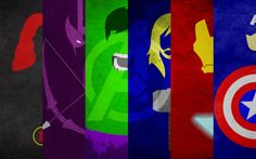 ICONS:Avengers - Calvin Lin thelinc: Hey guys, so here's the combined portraits of the Avengers, inspired by herochan when they put together some of my minimalist posters together. So I decided that I'll only do the Avengers for now, since I haven't done enough of the Justice League to fill in all the slots, so that will definitely come out in the future. Also if you guys have any requests for wallpapers with certain heroes that you would like, please message me with the resolution you want and a minimum of 6 heroes starting from left to right. DeviantArt | Prints@Society6