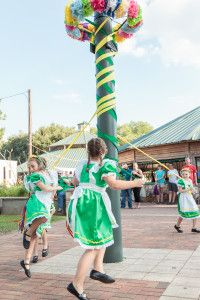 Brenham, Texas Maifest is one of the oldest cultural celebrations in the state. Held the first full weekend in May with children's events, dances and lots of German cultural exhibits and music.
