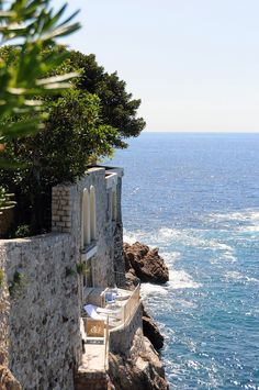 Scenically located in Cote d'Azur's ancient village of Eze, on a private peninsula that juts out into the twinkling blue waters of the Mediterranean Sea, Cap Estel is an intimate, recently renovated boutique hotel where you can experience all the glamour and charms of the French Riviera.
