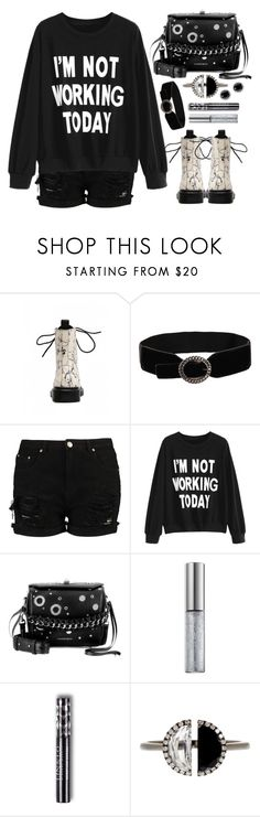 """""""Relax"""" by simona-altobelli ❤ liked on Polyvore featuring Alexander McQueen, Urban Decay, Bony Levy and Thomas Sabo"""