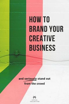 Branding your creati