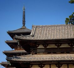 This is the Horyu-ji Temple in Horyu-ji Japan. It has the distinction of being the oldest wooden building on Earth. The current structure was built in 711 and is actually a reconstruction of an earlier temple which was built in 607.  For obvious reasons (fire and decay) wooden buildings dont usually last as long as stone structures. Many of the famous wooden buildings in the world have actually burned down several times and have been rebuilt. The palace in the Forbidden City in Beijing the…