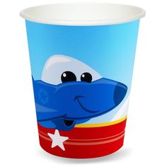 Airplane Adventure 9 oz. Paper Cups  from BirthdayExpress.com