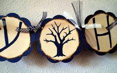 Happy Halloween Banner - Spooky Tree