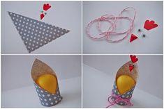INSPIRACE... VELIKONOČNÍ KALENDÁŘ   Pretty Papers - přáníčka, scrapbook, tvoření z papíru... Easter Crafts For Kids, Diy For Kids, Toilet Paper Roll Crafts, Paper Crafts, Hand Art Kids, Diy And Crafts, Arts And Crafts, Ladybug Crafts, Felt Christmas Decorations