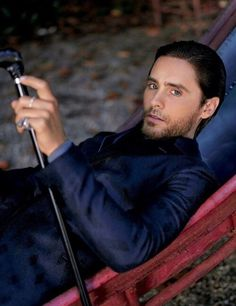 Jared Leto  He can so handle his cane