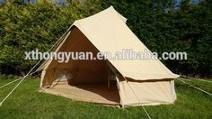 Double layer cheap price mountain tent On selling ultraviolet proof bell tent canvas