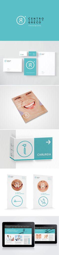 Webdesign Schweiz | Jetzt kostenlose Offerte anfordern http://www.swisswebwork.ch identity / Centro Greco / dental