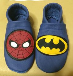 Spiderman und Batman