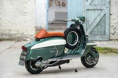 We'd Ride A Scooter If They All Looked As Good As This Lambretta - Petrolicious Retro Scooter, Lambretta Scooter, Vespa Scooters, Bike Style, Motorcycle Style, Motorcycle Quotes, Triumph Motorcycles, Vintage Motorcycles, Custom Motorcycles