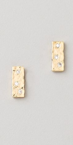 Gorja Earrings, love these!  Wish they were ROSE GOLD! :)