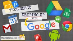 """The Guide to Keeping Up with Google! I'm sharing the secrets to keeping up with Google! To update one of last year's most popular posts, The Guide to Keeping Up with Google, I am putting together a new guide and blog series with tips for keeping up with Google. I often get asked, """"How do …"""