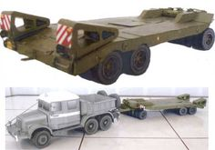 This paper model is a very detailed Transporta P-32 Trailer, created by Ripper Works. There are 1:32 and 1:25 two scale versions. There is also a Transport