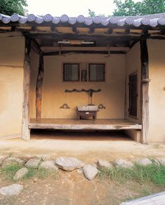 Cafe Interior Design, Interior Design Living Room, Living Room Decor, Korean Traditional, Traditional House, Life Space, Rural House, Vintage Cafe, Mid Century House